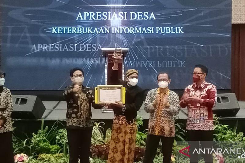 Wapres mengapresiasi 10 desa dengan keterbukaan informasi publik terbaik