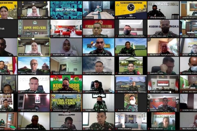 Vokasi UI beri pelatihan kehumasan pimpinan TNI AD