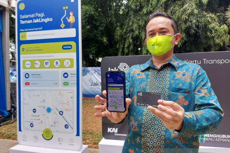 Jaklingko  sosialisasikan kartu dan aplikasi antarmoda ke masyarakat