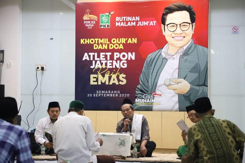 PKB doa bersama untuk prestasi atlet Jateng di PON Papua thumbnail