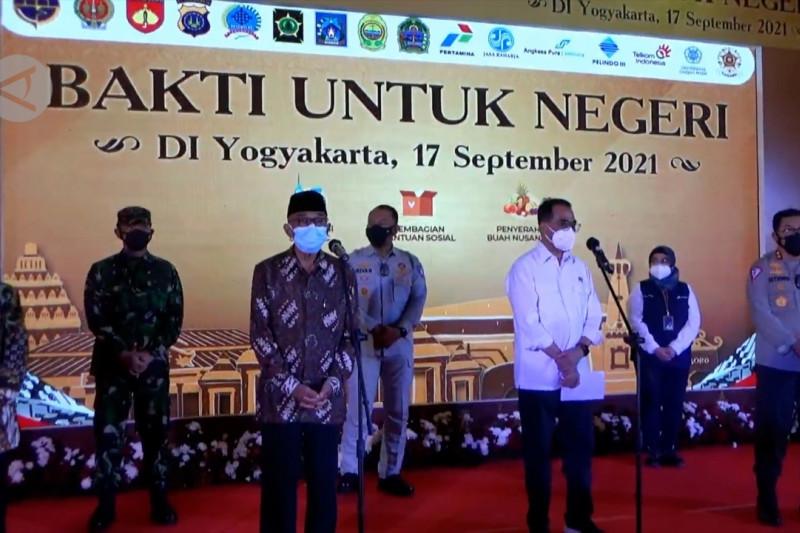 Ingin kurangi disparitas, Kemenhub gelar vaksinasi di Yogyakarta & Bantul