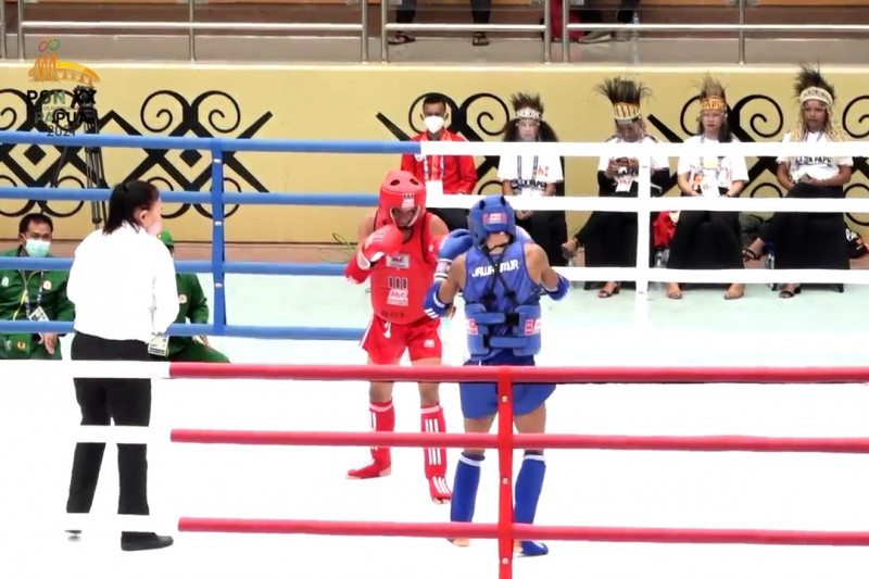 Muaythai Jatim pukul KO Bengkulu