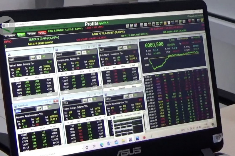 Peningkatan investasi saham di Sultra pecahkan rekor 69,2 persen
