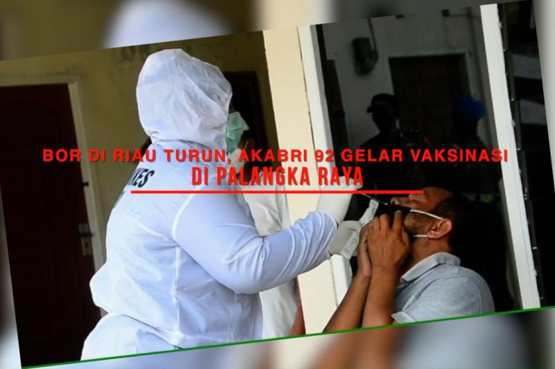 BOR di Riau turun, Akabri '92 gelar vaksinasi di Palangka Raya