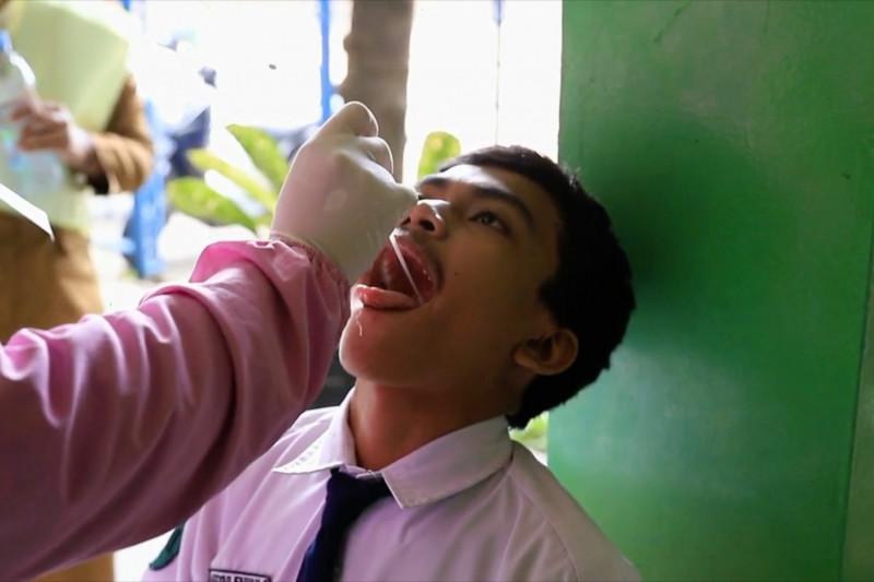 Dinkes Kota Tangerang ajak warga sekolah ikuti tes usap