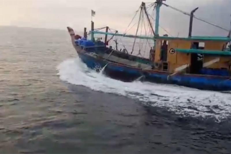 KKP tangkap kapal ikan asing ilegal di Selat Malaka