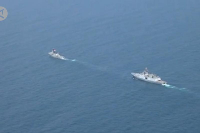 TNI AL & Indian Navy gelar latihan bersama di Samudra Hindia