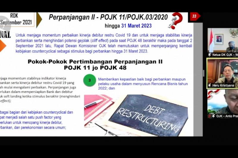 OJK Perpanjang restrukturisasi kredit perbankan