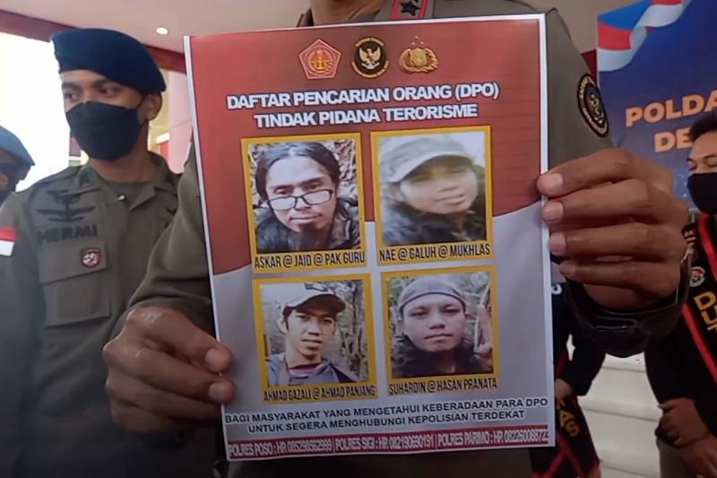 Polisi yakini DPO teroris Poso pegang senjata dan bom