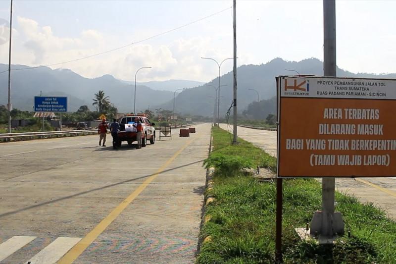 Progres tol Padang-Sicincin capai 45 persen