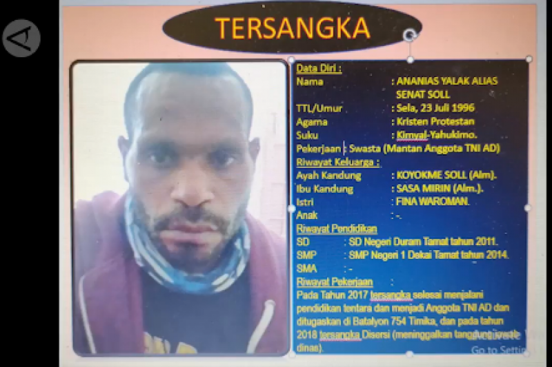 Tertangkap, tokoh KKB dievakuasi dari Yahukimo ke Jayapura