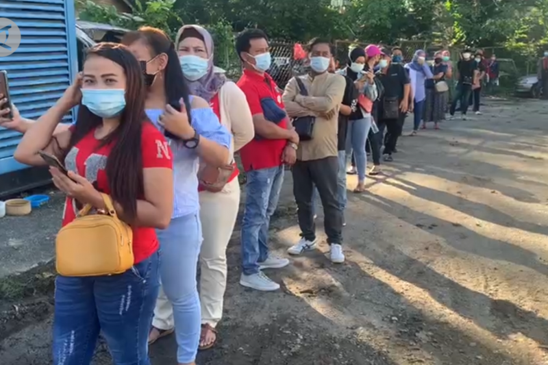 Migran Indonesia di Kuala Lumpur jalani vaksinasi