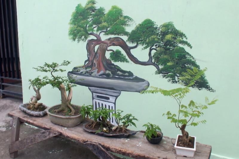 Menggerakkan perekonomian warga melalui Kampung Bonsai