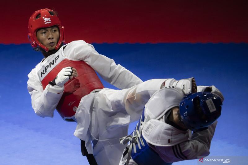 Final taekwondo Kyorugi under 63 kg putra thumbnail