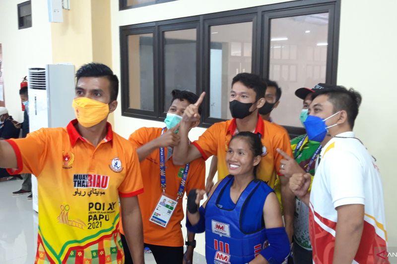 Riau pelajari strategi atlet Jawa Barat jelang final muaythai PON XX thumbnail