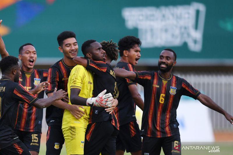 Perjalanan Papua dan Kaltim ke semifinal sepak bola putra PON Papua thumbnail