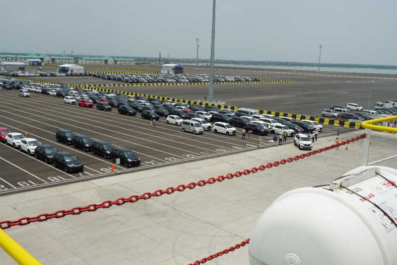 Kemenhub: 700 mobil baru dikirim dari Pelabuhan Patimban ke Belawan