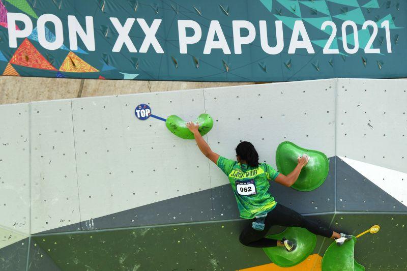 Jadi juara umum panjat tebing PON, pelatih Jatim tetap ingin seleknas thumbnail