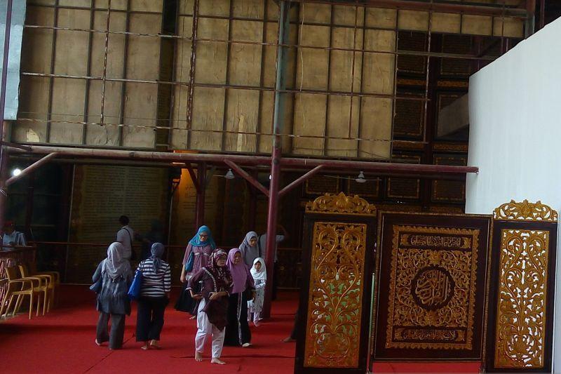 Objek wisata Alquran Al-Akbar di Palembang dibuka kembali thumbnail