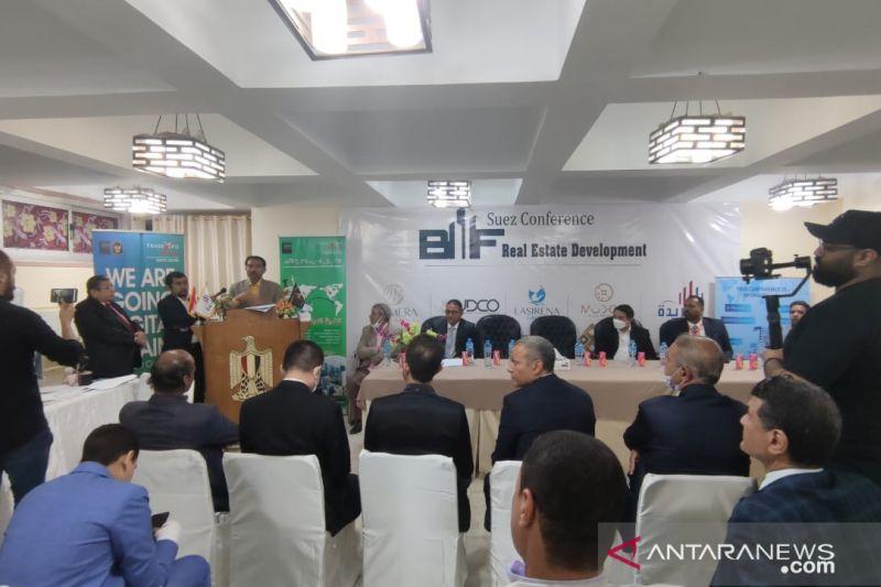 Jajaki kerja sama ekonomi, Dubes Lutfi kunjungi Provinsi Suez thumbnail