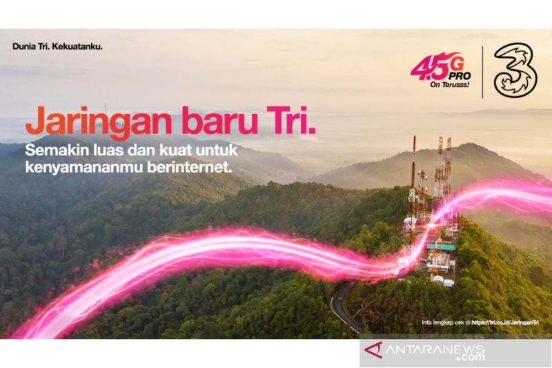 3 perluas jaringan ke 70 desa terpencil di Indonesia thumbnail