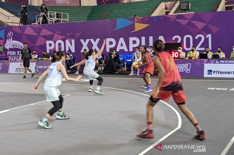 Jadwal bola basket 3x3 PON Papua pada Kamis, perebutan medali emas thumbnail