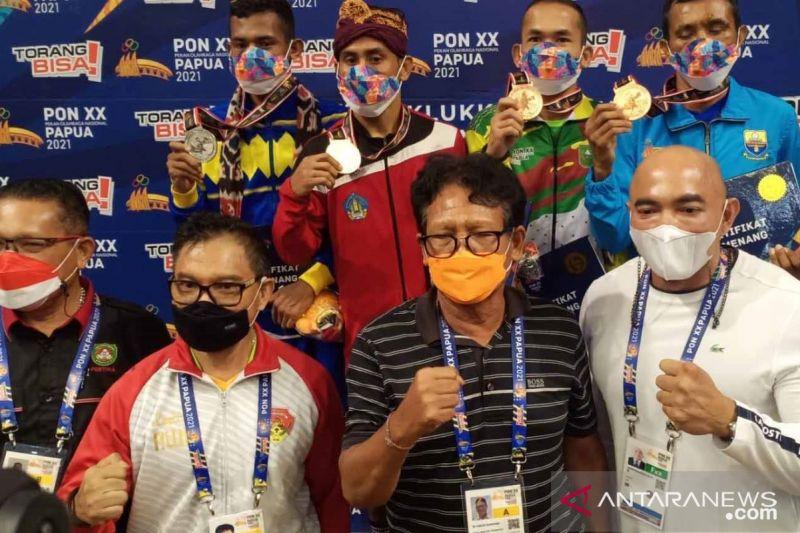 PON Papua - Pertina Bali apresiasi Kornelis raih medali emas thumbnail