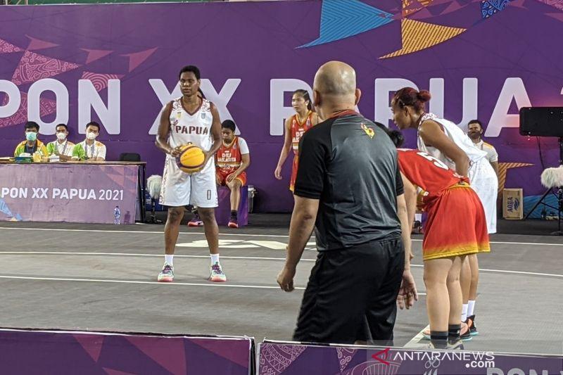 Tim basket 3x3 putri Papua ke semifinal thumbnail