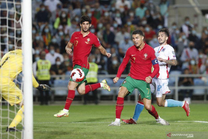 Kualifikasi Piala Dunia Zona Eropa:  Portugal kalahkan  Luksemburg 5-0, Ronaldo hat-trick thumbnail