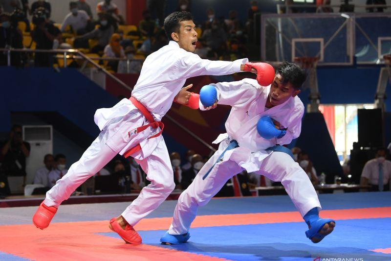 Jadwal karate PON Papua: dua emas jadi penutup laga di Kayu Batu thumbnail