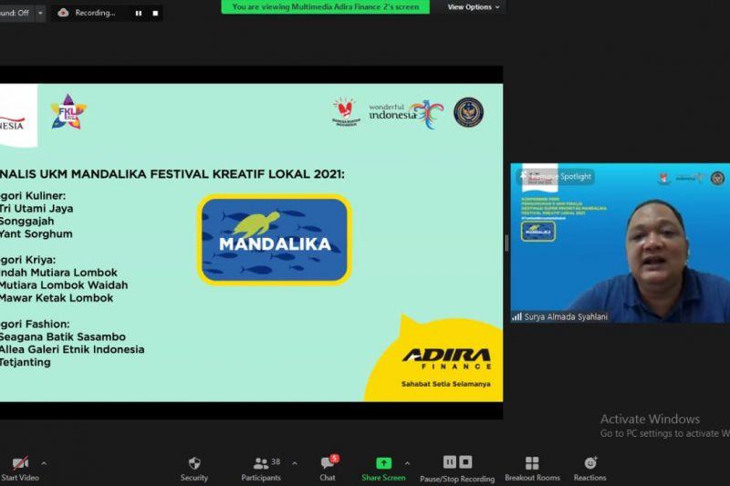 Kemenparekraf-Adira gelar Festival Kreatif Lokal dukung UMKM Mandalika thumbnail