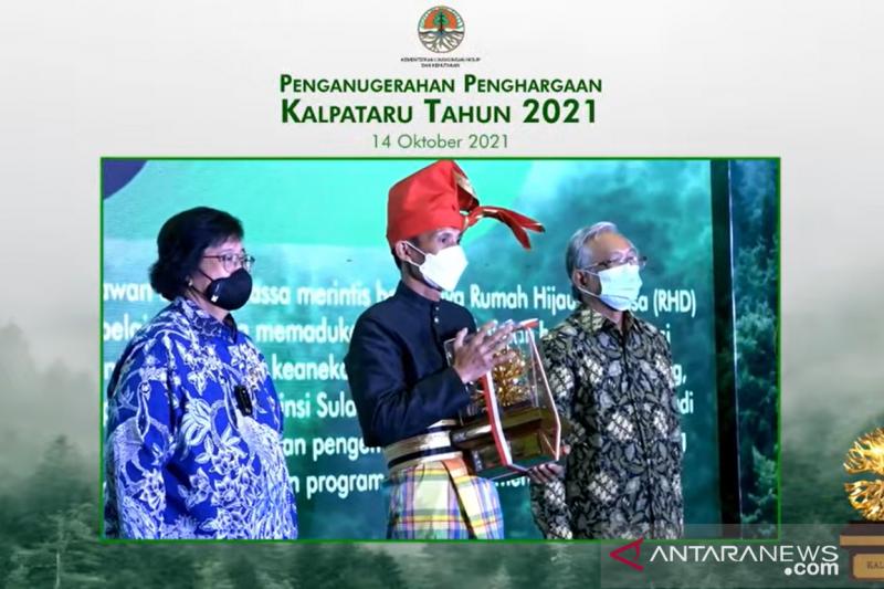 KLHK anugerahan Kalpataru 2021 kepada 10 pejuang lingkungan