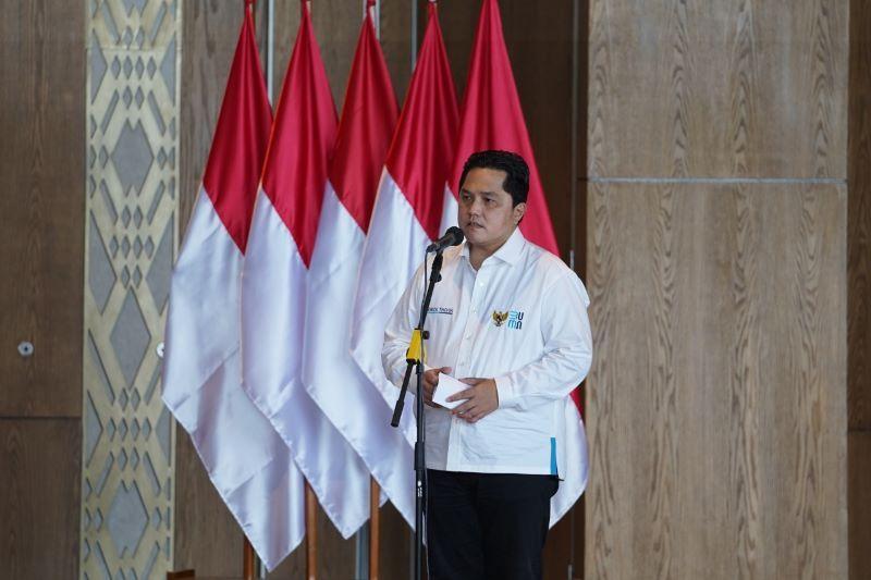 Erick Thohir: Transformasi BUMN mendapat apresiasi Presiden RI Jokowi thumbnail