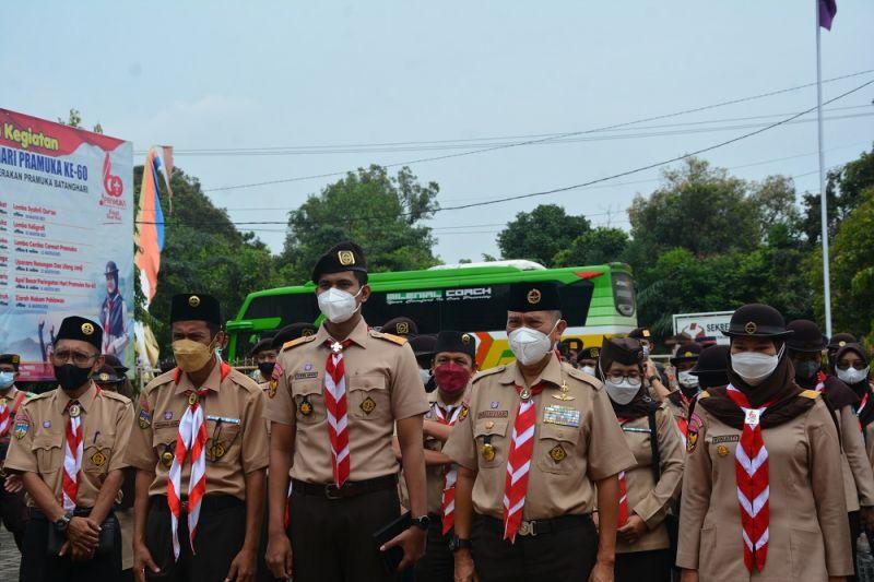 Sekjen Kwarnas Gerakan Pramuka Indonesia tinjau lokasi PWN 2021 thumbnail