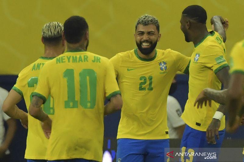 Brazil libas Uruguay dengan skor 4-1 thumbnail