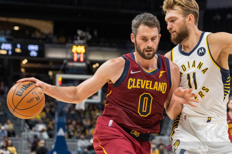 Pra Musim NBA:  Cleveland Cavaliers kalahkan Indiana Pacers 110 - 94 thumbnail