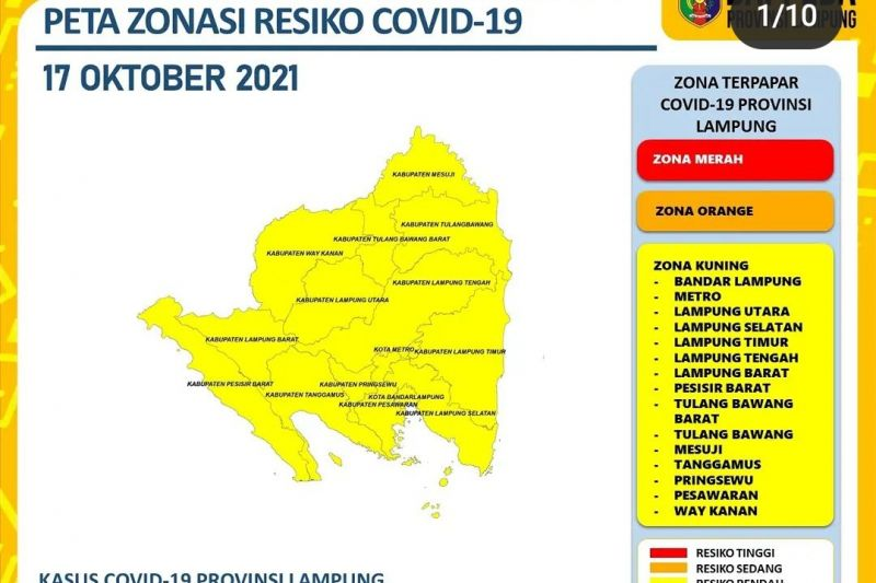 Dinkes Lampung catat  penambahan 15 kasus COVID-19 thumbnail