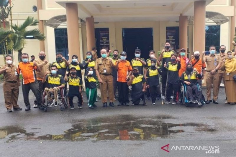 Sebanyak 15 atlet paralimpik HST bakal bertanding di Peparnas di Papua thumbnail