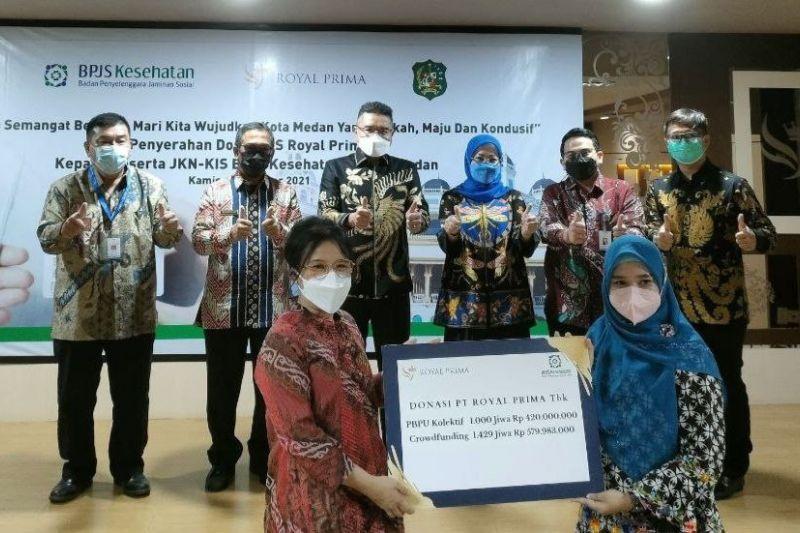 2.429 warga Medan terima donasi iuran JKN-KIS thumbnail