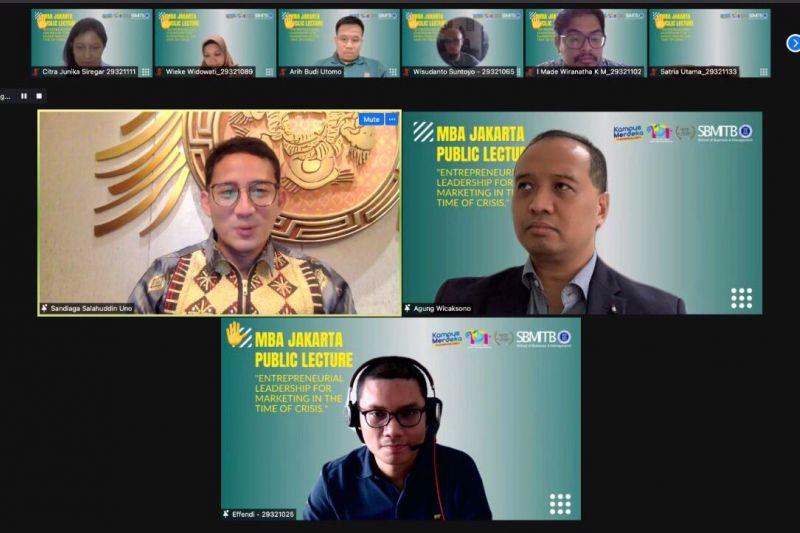 Sandiaga Uno paparkan revitaliasi pariwisata dengan metode 3G thumbnail