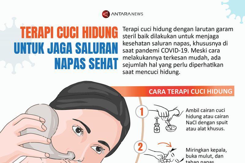 Terapi cuci hidung untuk jaga saluran napas sehat thumbnail