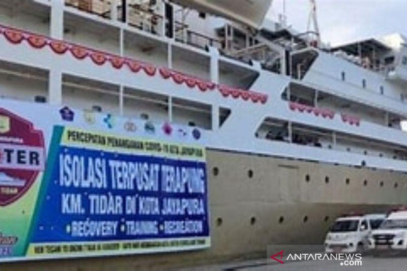 Kiprah Kapal Tidar sebagai tempat isoter selama PON Papua