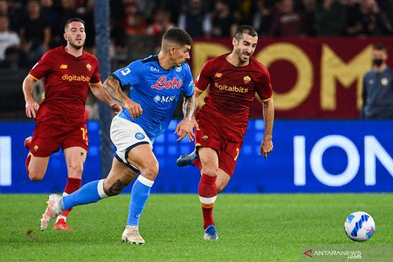 Laga AS Roma lawan Napoli berakhir imbang tanpa gol thumbnail