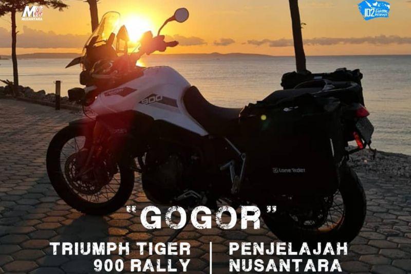 Empat bikers M8 Nusantara keliling Indonesia rekam keindahan budaya thumbnail
