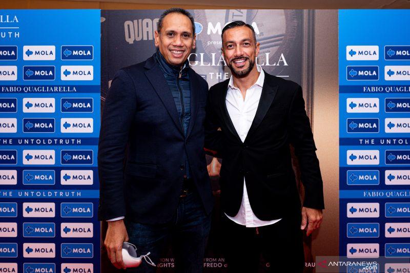 Klub sepak bola Sampdoria meriahkan peluncuran MOLA di Italia thumbnail