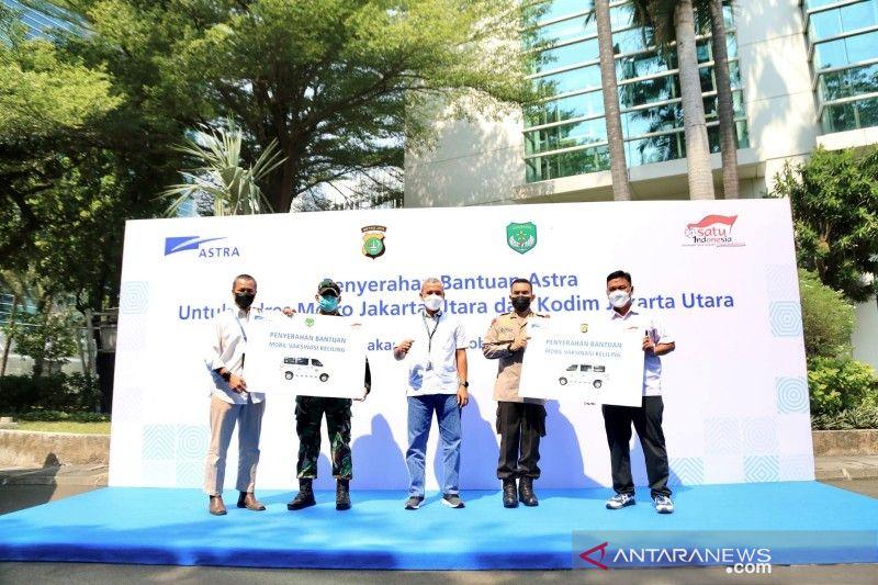 Astra serahkan dua mobil vaksinasi untuk Polres-Kodim Jakarta Utara thumbnail