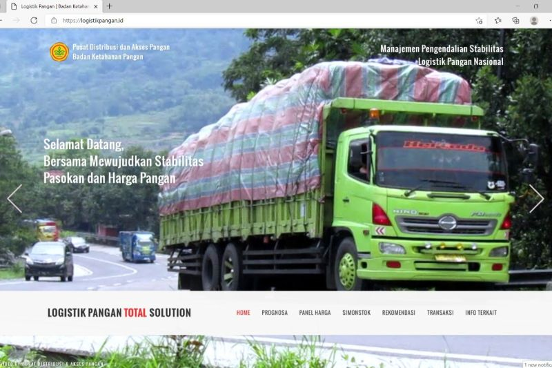 Kementan luncurkan laman logistik pangan untuk stabilisasi harga-stok thumbnail