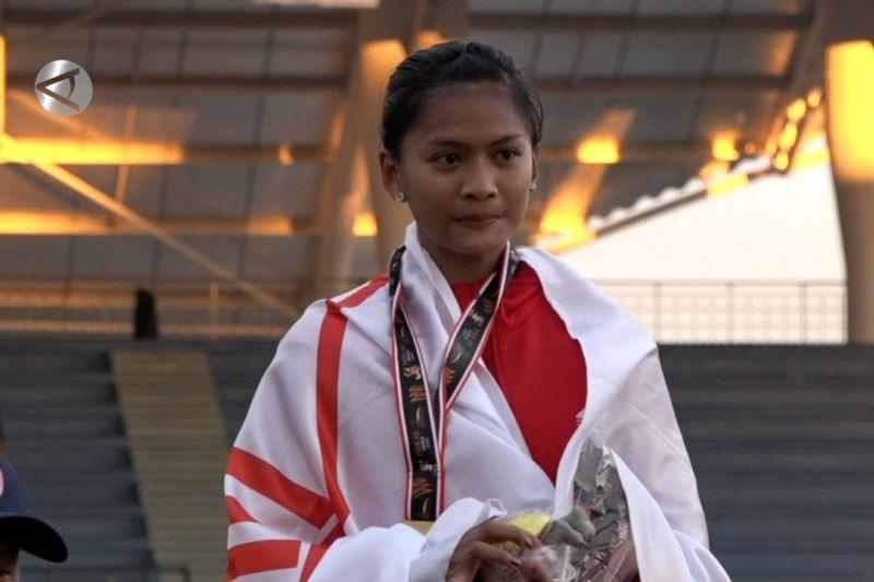 Diva Renata bawa pulang medali emas pertamanya thumbnail