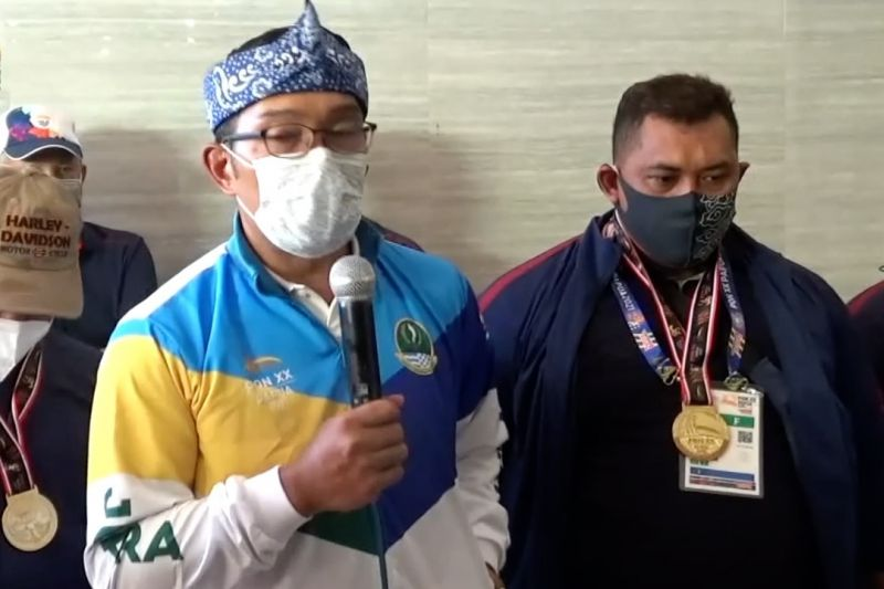 Ridwan Kamil ungkap resep Jabar Juara Umum PON XX Papua thumbnail