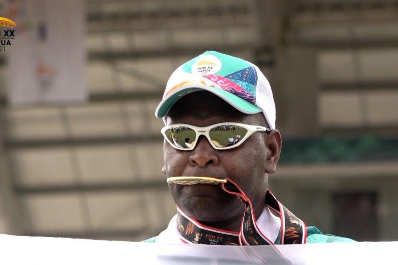 Arnoldus sumbang medali emas perdana atletik bagi Papua thumbnail